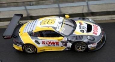 <予約 2021/2月発売予定> Spark 1/18 Porsche 911 GT3 R No.98 ROWE Racing Winner 24H Spa 2020
