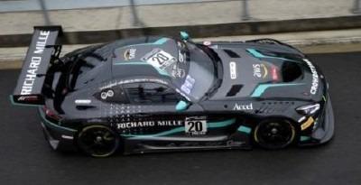 <予約 2021/2月発売予定> Spark 1/18 Mercedes-AMG GT3 No.20 SPS Automotive Performance 24H Spa 2020