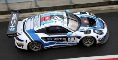 <予約 2021/4月発売予定> Spark 1/18 Porsche 911 GT3 R No.47 KCMG 24H Spa 2020