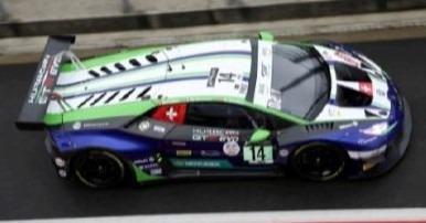 <予約 2021/4月発売予定> Spark 1/18 Lamborghini Hurac?n GT3 Evo No.14 Emil Frey Racing 24H Spa 2020