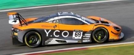 <予約 2021/4月発売予定> Spark 1/18 McLaren 720S GT3 No.69 Optimum Motorsport 24H Spa 2020