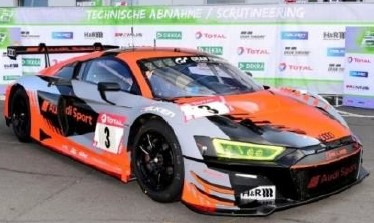 <予約 2021/4月発売予定> Spark 1/18 Audi R8 LMS GT3 No.3 Audi Sport Team 2nd 24H Nurburgring 2020