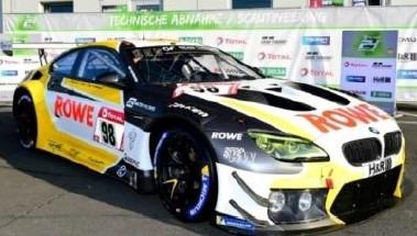 <予約 2021/2月発売予定> Spark 1/18 BMW M6 GT3 No.98 ROWE RACING 4th 24H Nurburgring 2020