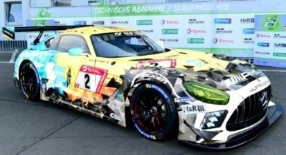<予約 2021/4月発売予定> Spark 1/18 Mercedes-AMG GT3 No.2 Mercedes-AMG Team HRT 9th 24H Nurburgring 2020