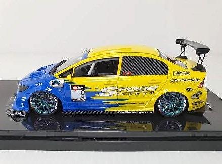 onemodel 1/64 Honda Civic FD2 Spoon Racing