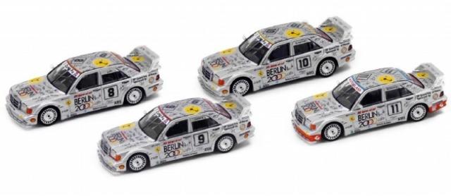 MINI GT 1/64 メルセデス ベンツ 190E 2.5-16 エボリューション II マカオ ギア レース 1992 限定セット(香港限定)