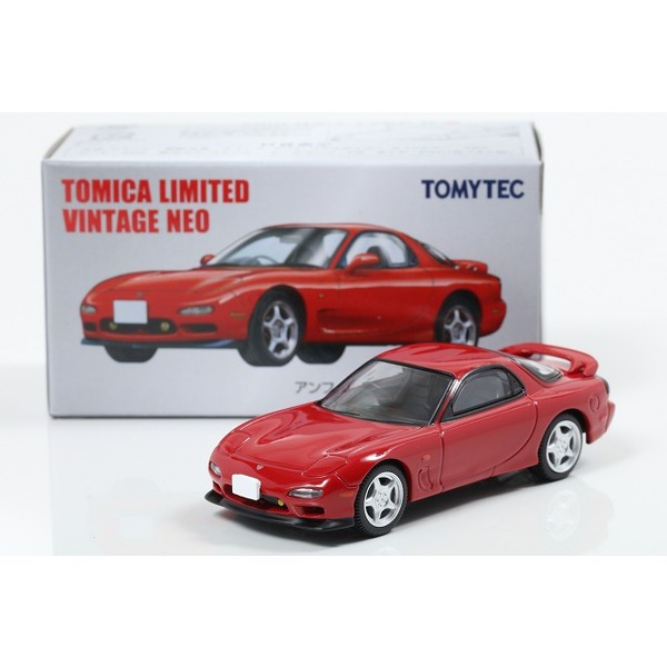 【トミカリミテッドヴィンテージNEO】 1/64 日本車の時代 VOL.13 アンフィニRX-7 タイプR (1991年式) 赤