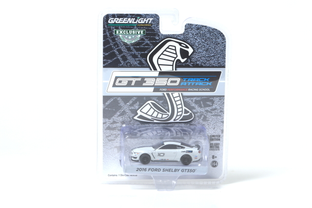 GREE LIGHT 1/64 2016 FORD SHELBY GT350 #10