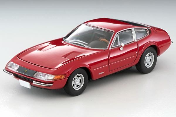 TOMICA LIMITED VINATGE 1/64 フェラーリ 365 GTB4 前期型 (赤)