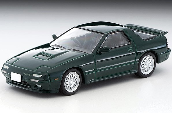 TOMICA LIMITED VINTAGE NEO 1/64 日本車の時代 14 マツダ サバンナRX-7 アンフィニ(緑)