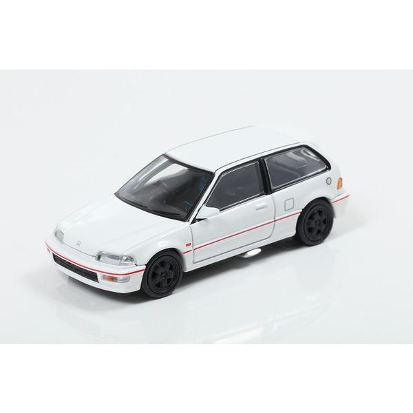 【トミカリミテッドヴィンテージNEO】 1/64 Honda Civic SiR II (EF9) Gr.A White ※香港限定