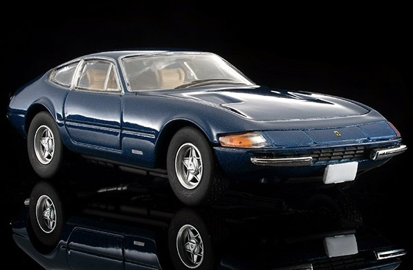 トミカリミテッドヴィンテージ 1/64 フェラーリ 365 GTB4(紺)