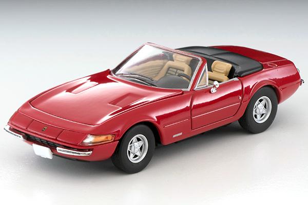 TOMICA LIMITED VINATGE 1/64 フェラーリ 365 GTS4 後期型 (赤)