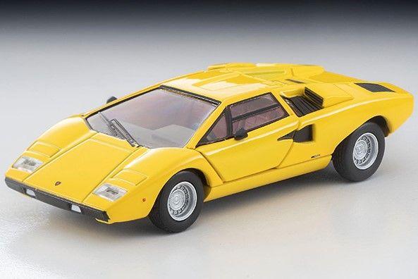 <予約 2021/3月発売予定> TOMICA LIMITED VINTAGE NEO 1/64 ランボルギーニ カウンタック LP400 (黄色)