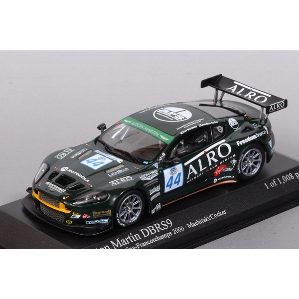 【ミニチャンプス】 1/43 アストンマーチン DBRS9 FIA GT3 Spa 2006  ※限定数1008台
