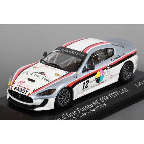 【ミニチャンプス】 1/43 マセラティ グランツーリスモ MC GT4 No,12 Trofeo Granturismo MC 2010 ※ 限定1008台