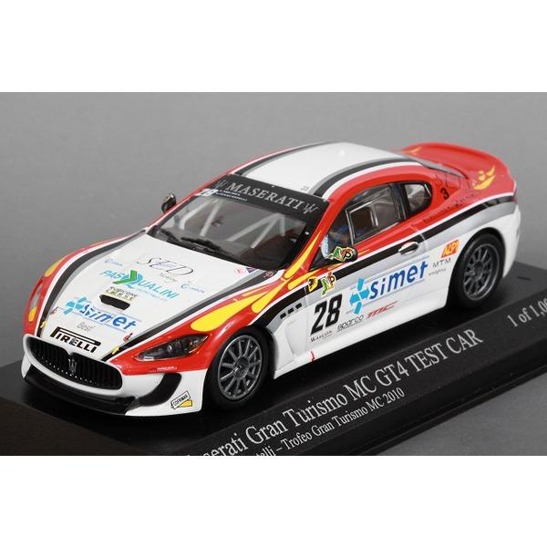 【ミニチャンプス】 1/43 マセラティ グランツーリスモ MC GT4 No,28 Trofeo Granturismo MC 2010 ※ 限定1008台