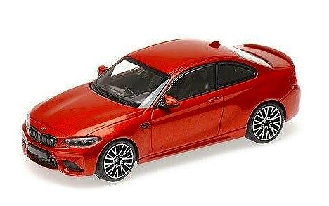 MINICHAMPS 1/43 BMW M2 Competition 2019 Orange Metallic