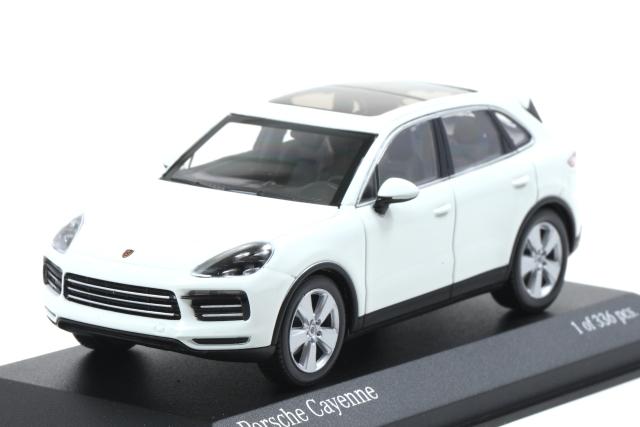 MINICHAMPS 1/43 Porsche Cayenne 2017 White 336pcs