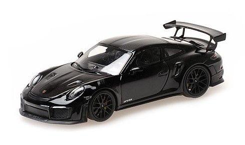 MINICHAMPS 1/43 ポルシェ 911 (991.2) GT2RS 2018 ブラック (ヴァイザッハパッケージ) ブラックホイール