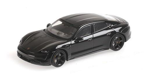 MINICHAMPS 1/43 ポルシェ タイカン ターボ S 2020 SCHWARZ (ブラック)