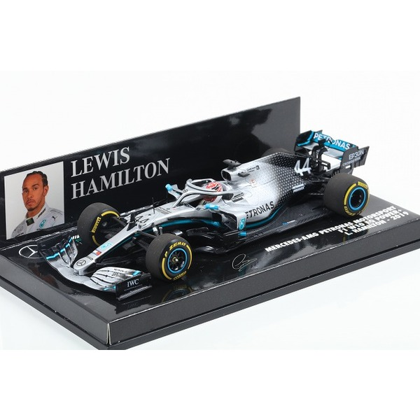 【MINICHAMPS】 1/43 メルセデス AMG ペトロナス フォーミュラ ワン チーム F1 W10 EQ パワー+ ルイス・ハミルトン 2019