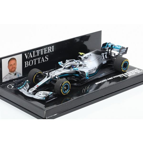 【MINICHAMPS】 1/43 メルセデス AMG ペトロナス フォーミュラ ワン チーム F1 W10 EQ パワー+ バルテリ・ボッタス 2019