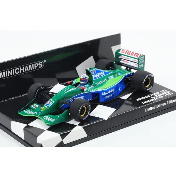 【MINICHAMPS】 1/43 ジョーダン フォード 191 アレッサンドロ・ザナルディ 日本GP 1991