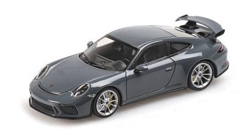 MINICHAMPS 1/43 ポルシェ 911 GT3 2017 グレー PMA特注品