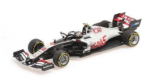 MINICHAMPS 1/43 HAAS F1 Team VF-20 Mick Schumacher FP1 アブダビGP 2020 限定900台
