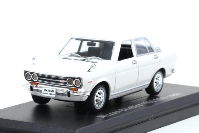 NOREV 1/43 Nissan Bluebird 1600 SSS 1969 White