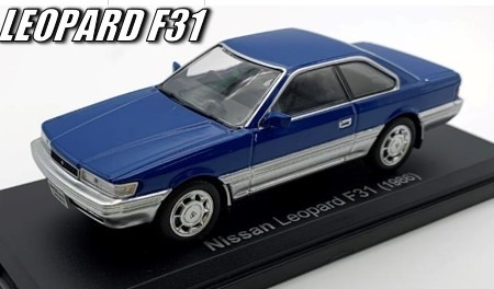 NOREV 1/43 日産 レパード F31 1986 ブルー
