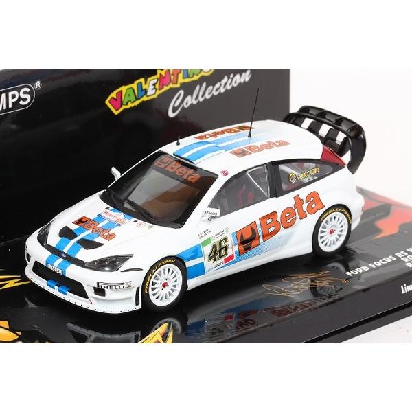 【ミニチャンプス】 1/43 フォード フォーカス RS WRC モンツァ 2007 ロッシ ※生産数:1008台
