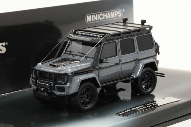MINICHAMPS 1/43 ブラバス 550 アドベンチャー 4X4? ベース (G 500 4X4 2017) グレー
