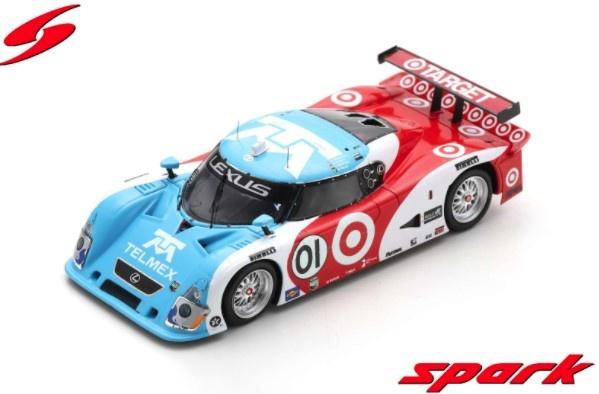 Spark 1/43 Riley Mk. XI No.01 Winner 24H Daytona 2008 S. Pruett - M. Rojas - D. Franchitti - J. P. Montoya