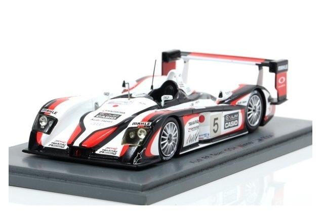 spark 1/43 Audi R8 No.5 Winner Le Mans 2004 S. Ara - R. Capello - T. Kristensen