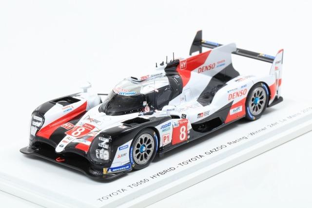 Spark 1/43 TOYOTA TS050 HYBRID No.8 TOYOTA GAZOO Racing Winner 24H Le Mans 2019