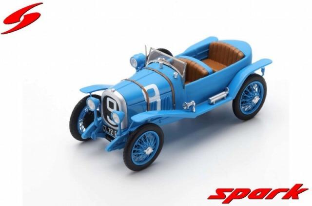 Spark 1/43 Chenard-Walcker No.9 Winner 24H Le Mans 1923 A. Lagache - R. Leonard