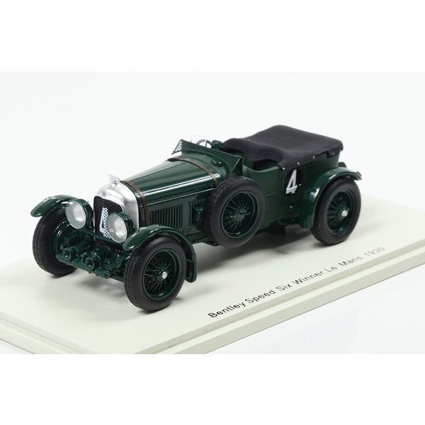 【Spark】 1/43 Bentley Speed Six No.4 Winner Le Mans 1930 W. Barnato - G. Kidston