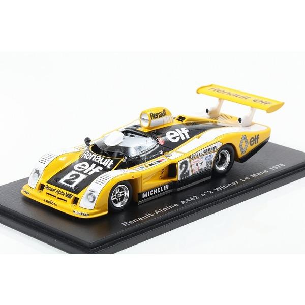 【Spark】 1/43 Renault-Alpine A442 Winner Le Mans 1978 D. Pironi - J-P Jaussaud #2
