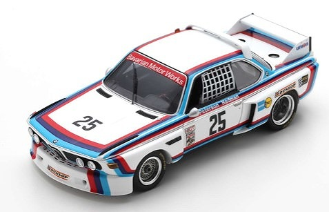 Spark 1/43 BMW 3.0 CSL No.25 Winner Sebring 12H 1975