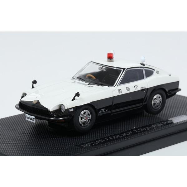 【EBBRO】 1/43 NISSAN FAIRLADY Z Highway Patrol 1969 (WHITE/BLACK)