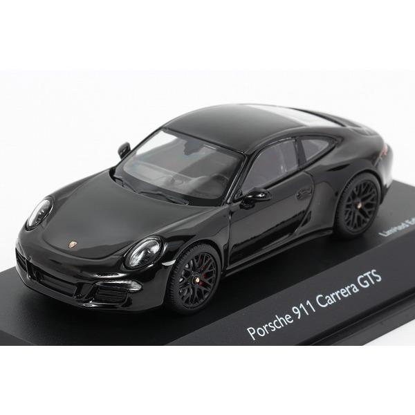 【シュコー】 1/43 ポルシェ 911 カレラ GTS クーペ ブラック ※限定1000台