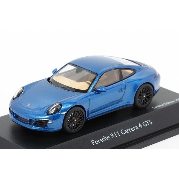 【シュコー】 1/43 ポルシェ 911 カレラ 4 GTS クーペ  サファイアブルー ※限定1000台