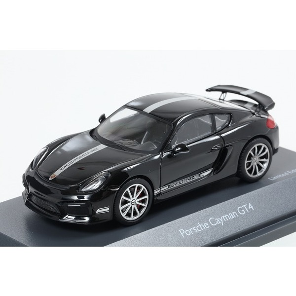 【Schuco】 1/43 ポルシェ ケイマン GT4 ブラック