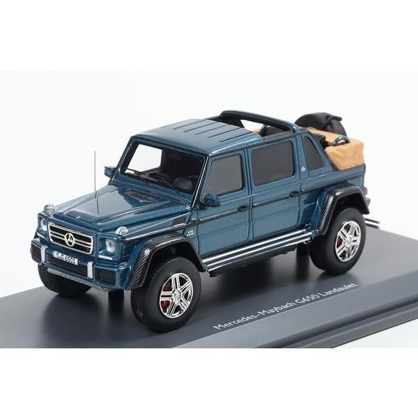 【Schuco】 1/43 メルセデス・ベンツ マイバッハ G650 ブルー