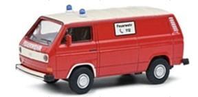 Schuco 1/64 VW T3 消防車両 レッド/ホワイト