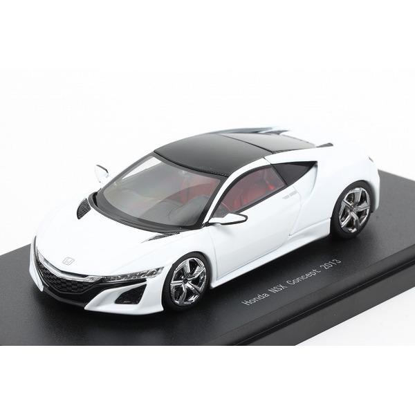 【エブロ】 1/43 ホンダ NSX コンセプト 2013 (パールホワイト)