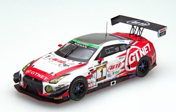 EBBRO 1/43 GTNET GT3 GT-R 2019 スーパー耐久 富士 24H ウィナー #1