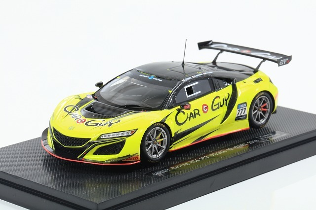 [EBBRO] 1/43 SUZUKA 10 Hours 2018 No.777 CARGUY Racing NSX GT3